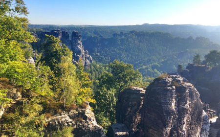2. Etappe Trek'n Learn in der Sächsischen Schweiz
