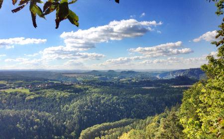 3. Etappe Trek'n Learn in der Sächsischen Schweiz