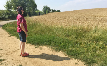 Skalierung auf dem Boden im Naturcoaching