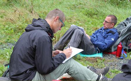 Seminararbeit in der Natur