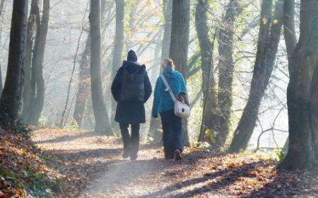 Ausbildung Natur-Mentaltrainer zu zweit unterwegs